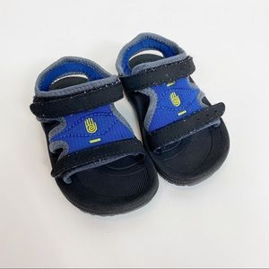 Teva Blue & Black Sandals Size 4/5 Unisex